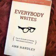 everybody writes resumé du livre ann handley